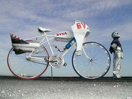 Moon bike prototype