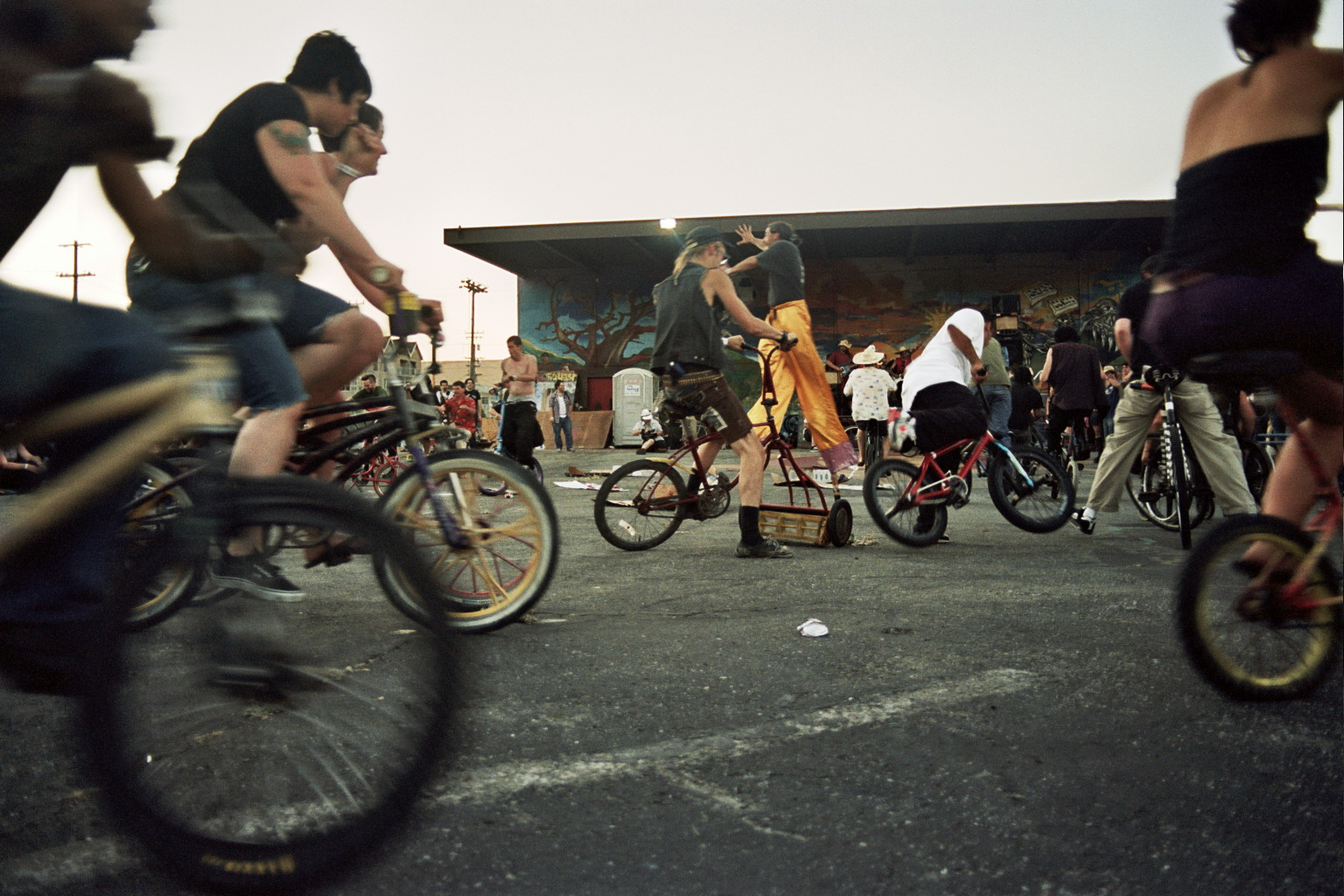 Bike Mosh Pit By Angela Scrivani