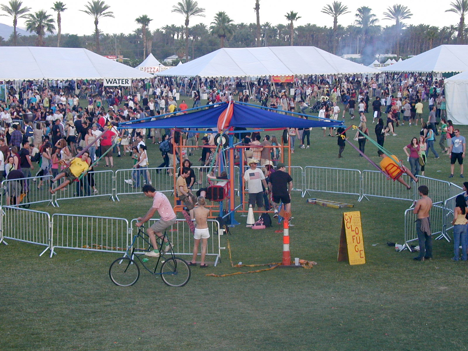 Cyclofuge at Coachella by Laird