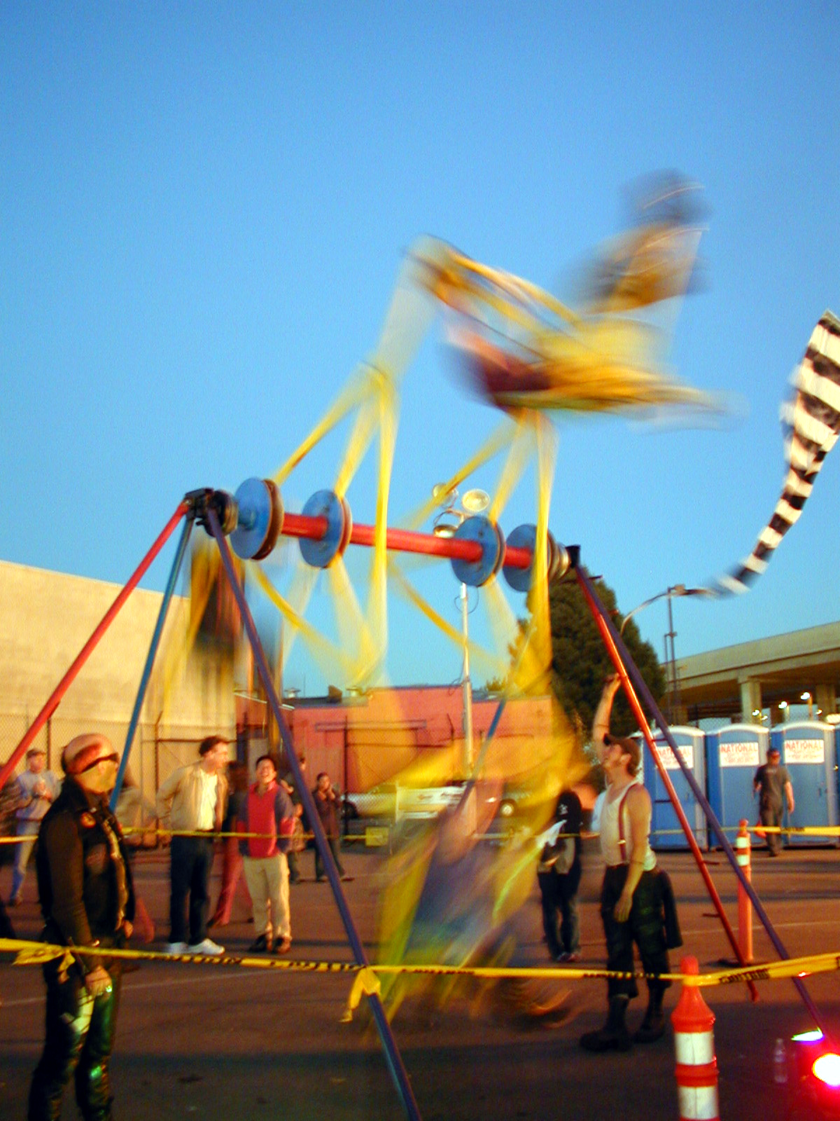 Three Seat Ferris Wheel in motion by Laird